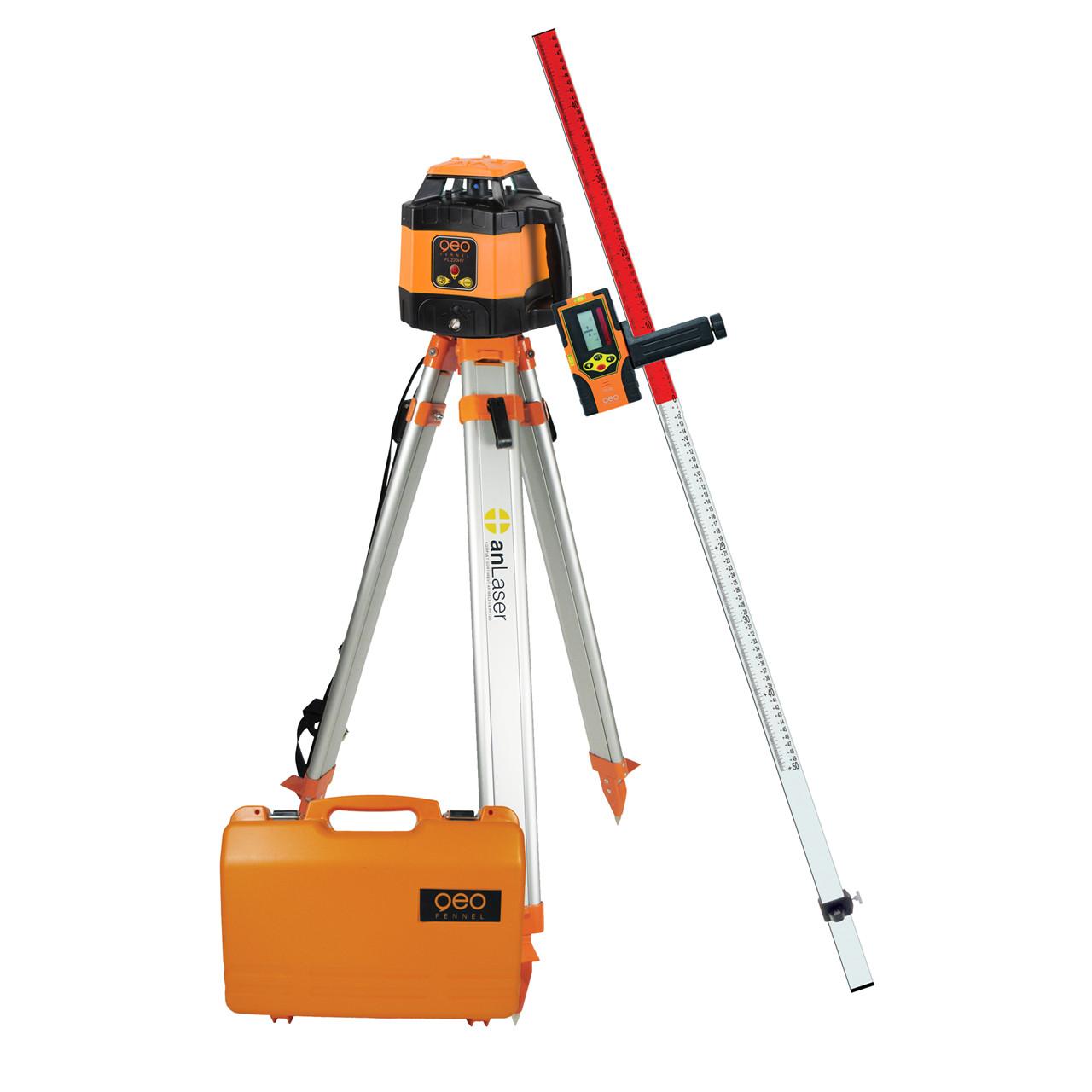 geoFENNEL Rotationslaser FL 220 HV m/FR 45 komplet - Værktøj -> Laser og måleinstrumenter -> Laser -> Cirkellaser Værktøj -> Laser og måleinstrumenter -> Laser -> Rotationslaser Værktøj -> Laser og måleinstrumenter -> Laser Værktøj -> Laser og måleinstrumenter Mærker -> geo-FEN