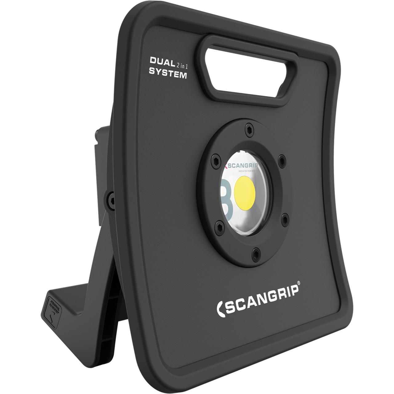 Scangrip Arbejdslampe NOVA 3K C+R 3000 lumen - Diverse -> Byggepladsbelysning -> Arbejdslamper|Diverse -> Byggepladsbelysning|Diverse|Mærker -> Scangrip