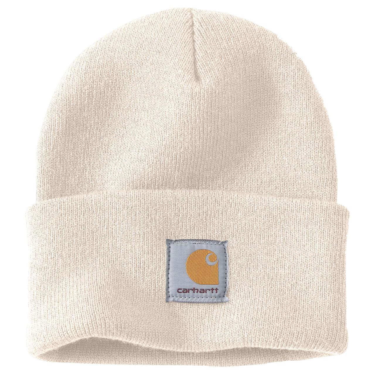 """Carhartt Hue Watch Hat """"Winter White"""" - Mærker Diverse -> Arbejdstøj og sikkerhedssko Diverse Mærker -> Carhartt -> Huer Mærker -> Carhartt"""