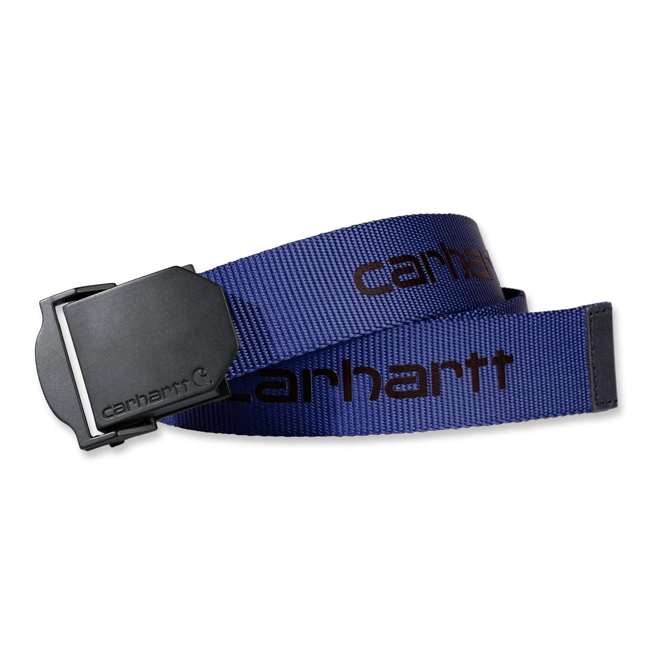 Carhartt Bælte Webbing Belt Dusk Blue - Mærker|Diverse -> Arbejdstøj og sikkerhedssko|Diverse|Mærker -> Carhartt -> Bælter|Mærker -> Carhartt