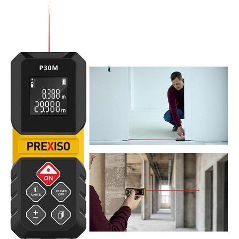 PREXISO AfstandsmålerP30M Mini 30m - Værktøj -> Laser og måleinstrumenter -> Opmåling -> Afstandsmåler|Mærker -> PREXISO