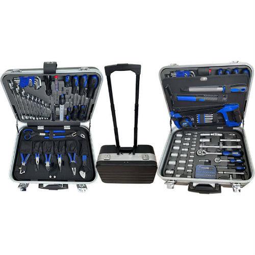 BATO værktøjssæt med 132 dele. Inkl. alukuffert. 1125 - Værktøj -> Håndværktøj -> Værktøjsvogn Værktøj -> Håndværktøj Mærker -> Bato Nordic