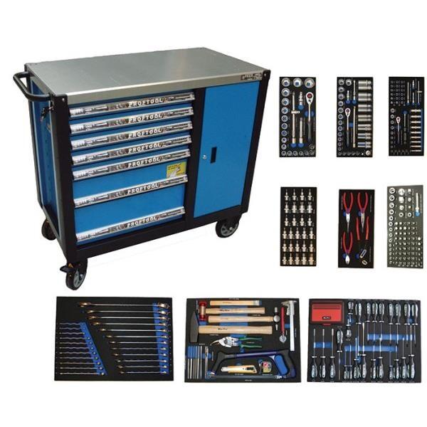 BATO Værktøjsvogn 7 skuffer og skab XXL 389 dele 9147-389 - Værktøj -> Håndværktøj -> Værktøjsvogn|Værktøj -> Håndværktøj|Mærker -> Bato Nordic -> Bato Værkstøjsvogn|Mærker -> Bato Nordic