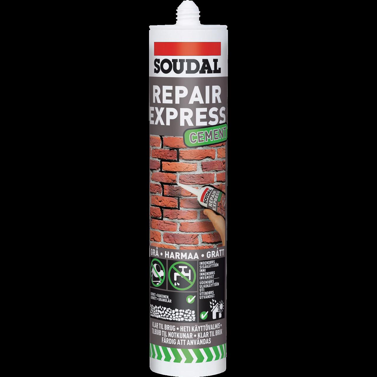 Køb Soudal Repair Express Cement 300ml beige