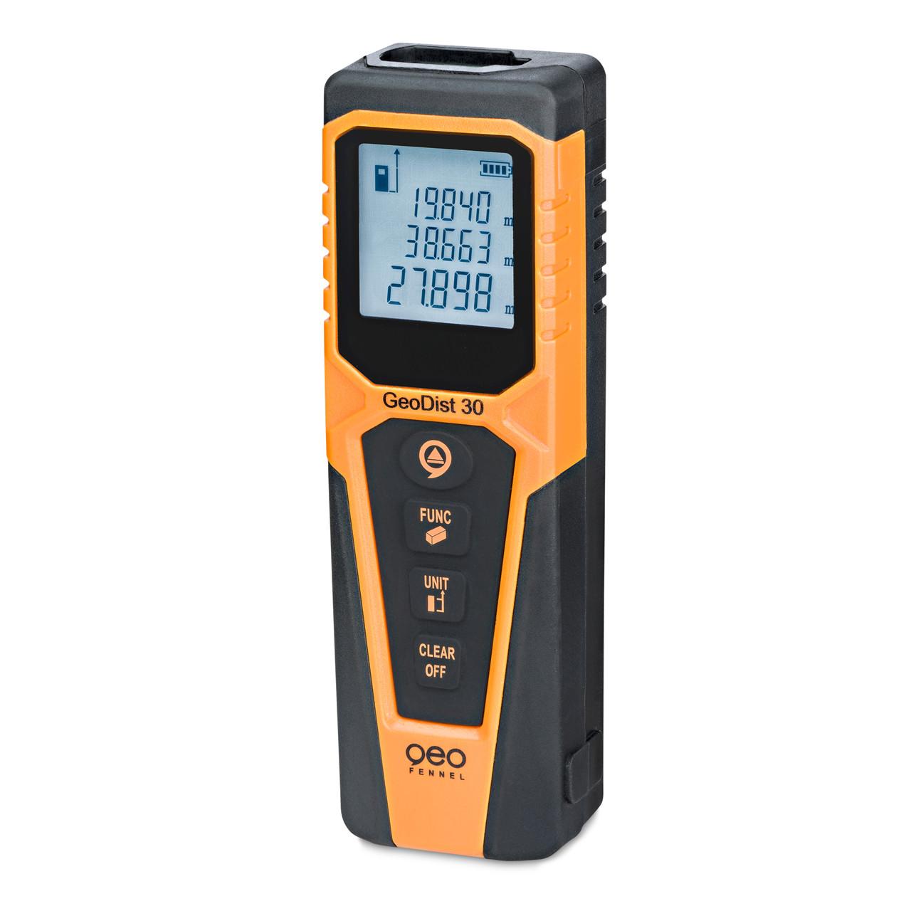 geoFENNEL Afstandsmåler GeoDist 30 - Værktøj -> Laser og måleinstrumenter -> Opmåling -> Afstandsmåler|Værktøj -> Laser og måleinstrumenter -> Opmåling|Værktøj -> Laser og måleinstrumenter|Mærker -> geo-FENNEL -> geo-FENNEL Måleinstrumenter|Mærker -> geo-FENNEL