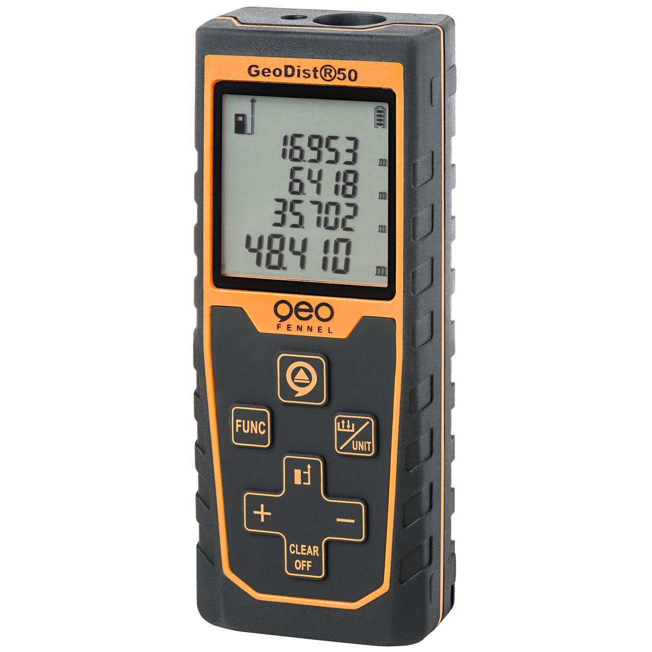 geoFENNEL Afstandsmåler GeoDist 50 - Værktøj -> Laser og måleinstrumenter -> Opmåling -> Afstandsmåler|Værktøj -> Laser og måleinstrumenter -> Opmåling|Værktøj -> Laser og måleinstrumenter|Mærker -> geo-FENNEL -> geo-FENNEL Måleinstrumenter|Mærker -> geo-FENNEL|Mær