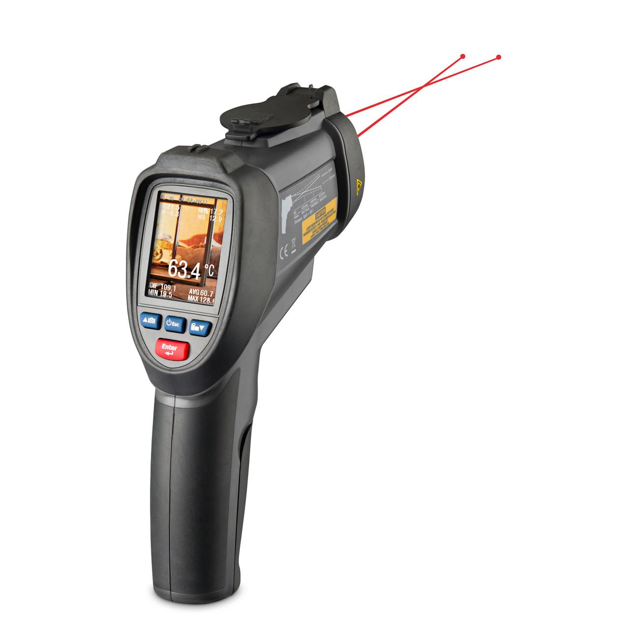 geoFENNEL Infrarød termometer FIRT 1000 DataVision - Værktøj -> Laser og måleinstrumenter -> Måleinstrumenter -> Infrarødt termometer|Værktøj -> Laser og måleinstrumenter -> Måleinstrumenter|Værktøj -> Laser og måleinstrumenter|Mærker -> geo-FENNEL -> geo-FENNEL Måleinstrumenter|Mærk