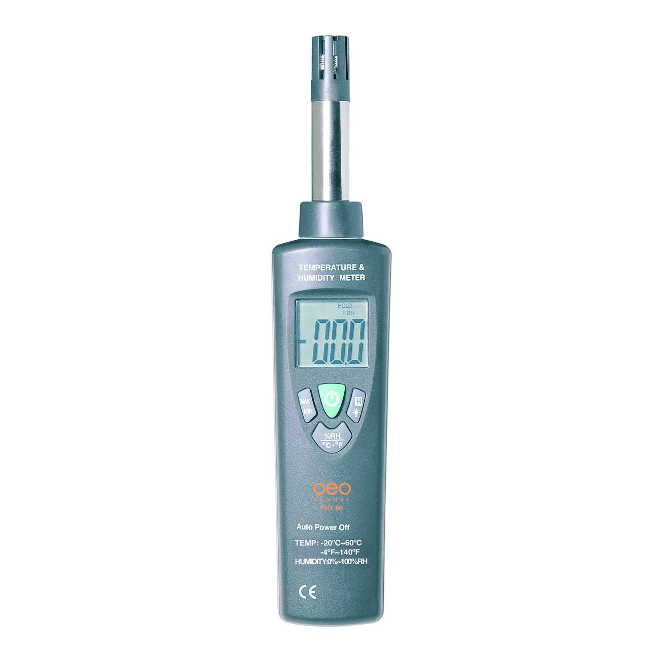 geoFENNEL Humidity temperaturmåler FHT 60 - Værktøj -> Laser og måleinstrumenter|Mærker -> geo-FENNEL -> geo-FENNEL Måleinstrumenter|Mærker -> geo-FENNEL