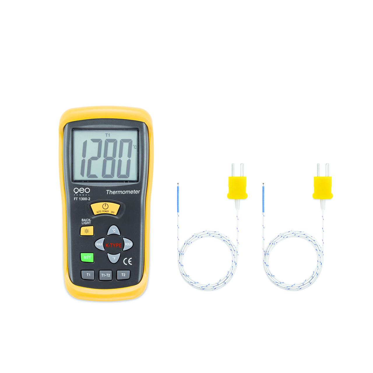 geoFENNEL Termoelement termometer FT 1300-2 - Værktøj -> Laser og måleinstrumenter -> Måleinstrumenter -> Termometer|Værktøj -> Laser og måleinstrumenter -> Måleinstrumenter|Værktøj -> Laser og måleinstrumenter|Mærker -> geo-FENNEL -> geo-FENNEL Måleinstrumenter|Mærker -> g