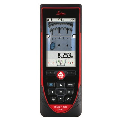 LEICA Afstandsmåler Disto D810 - Værktøj -> Laser og måleinstrumenter -> Opmåling -> Afstandsmåler|Værktøj -> Laser og måleinstrumenter -> Opmåling|Værktøj -> Laser og måleinstrumenter|Mærker -> Leica -> Leica afstandsmåler|Mærker -> Leica