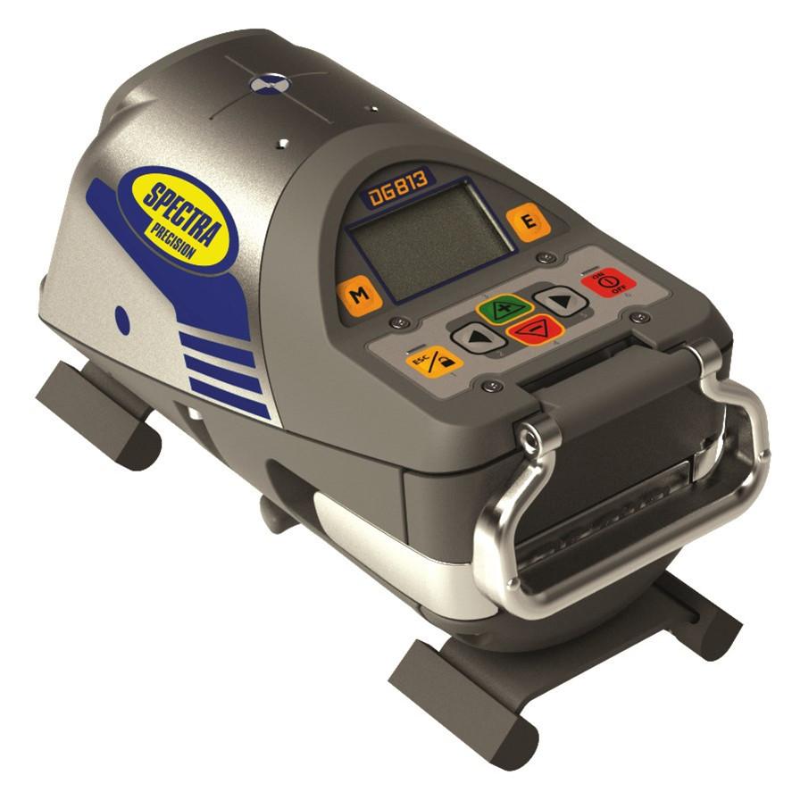 SPECTRA Rørlægningslaser DG813 med spotfinder - Værktøj -> Laser og måleinstrumenter -> Laser -> Rørlægningslaser|Værktøj -> Laser og måleinstrumenter -> Laser|Værktøj -> Laser og måleinstrumenter|Mærker -> Spectra -> Spectra Rørlægningslaser|Mærker -> Spectra