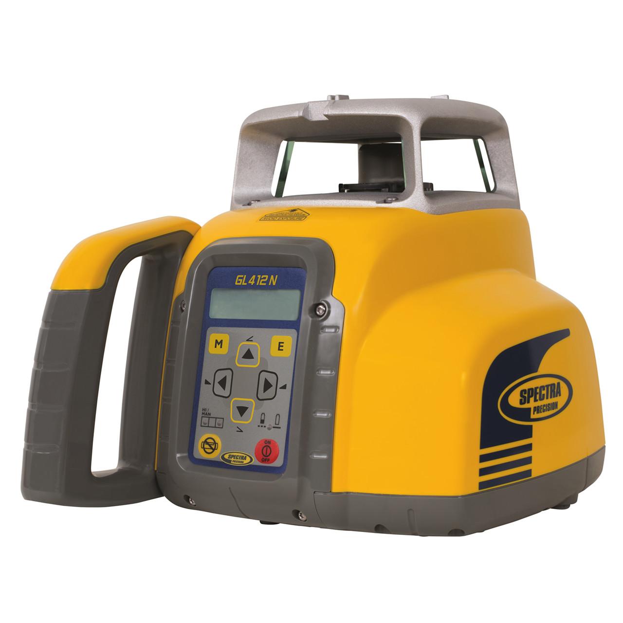 SPECTRA Rotationslaser GL412N med HL 760 modtager - Værktøj -> Laser og måleinstrumenter -> Laser -> Digitale rotationslaser|Værktøj -> Laser og måleinstrumenter -> Laser -> Cirkellaser|Værktøj -> Laser og måleinstrumenter -> Laser|Værktøj -> Laser og måleinstrumenter|Mærker ->