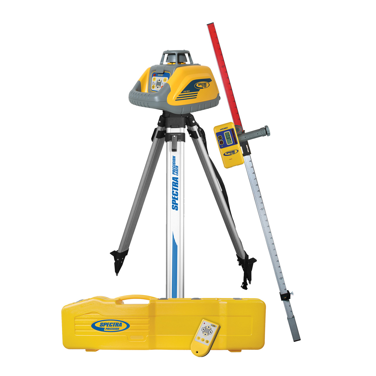 SPECTRA Rotationslaser HV101 komplet - Værktøj -> Laser og måleinstrumenter -> Laser -> Cirkellaser|Værktøj -> Laser og måleinstrumenter -> Laser -> Rotationslaser|Værktøj -> Laser og måleinstrumenter -> Laser|Værktøj -> Laser og måleinstrumenter|Mærker -> Spectra