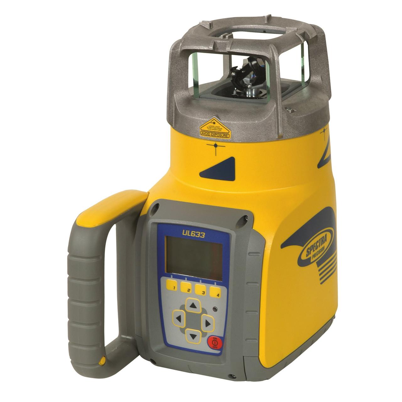 SPECTRA Rotationslaser UL633 m/spotfinder - Værktøj -> Laser og måleinstrumenter -> Laser -> Digitale rotationslaser|Værktøj -> Laser og måleinstrumenter -> Laser -> Cirkellaser|Værktøj -> Laser og måleinstrumenter -> Laser -> Rørlægningslaser|Værktøj -> Laser og målei
