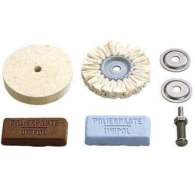 WOLFCRAFT Polereskivesæt, 5 dele hobby - Værktøj -> El-værktøj -> Tilbehør til el-værktøj -> Sandpapir/poler -> Poler|Værktøj -> El-værktøj -> Tilbehør til el-værktøj -> Sandpapir/poler|Værktøj -> El-værktøj -> Tilbehør til el-værktøj|Mærker -> Wolfcraft