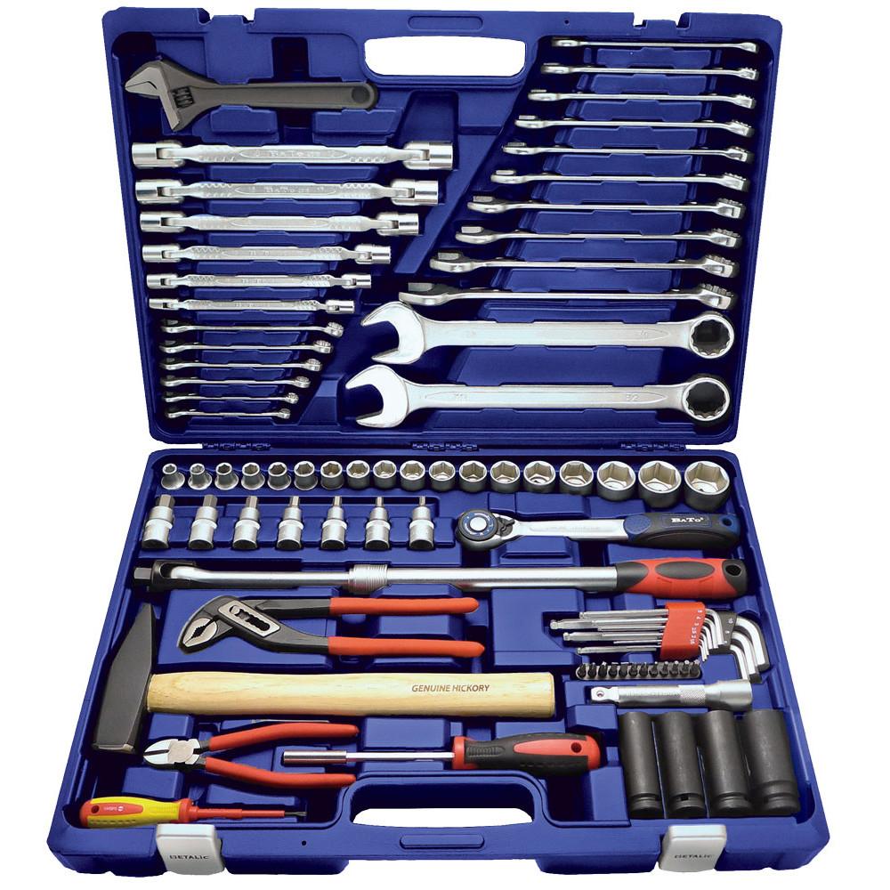 """BATO Værktøjssæt 1/2"""" topnæglesæt 83 dele 1183 - Værktøj -> Håndværktøj -> Topnøglesæt Værktøj -> Håndværktøj Mærker -> Bato Nordic"""