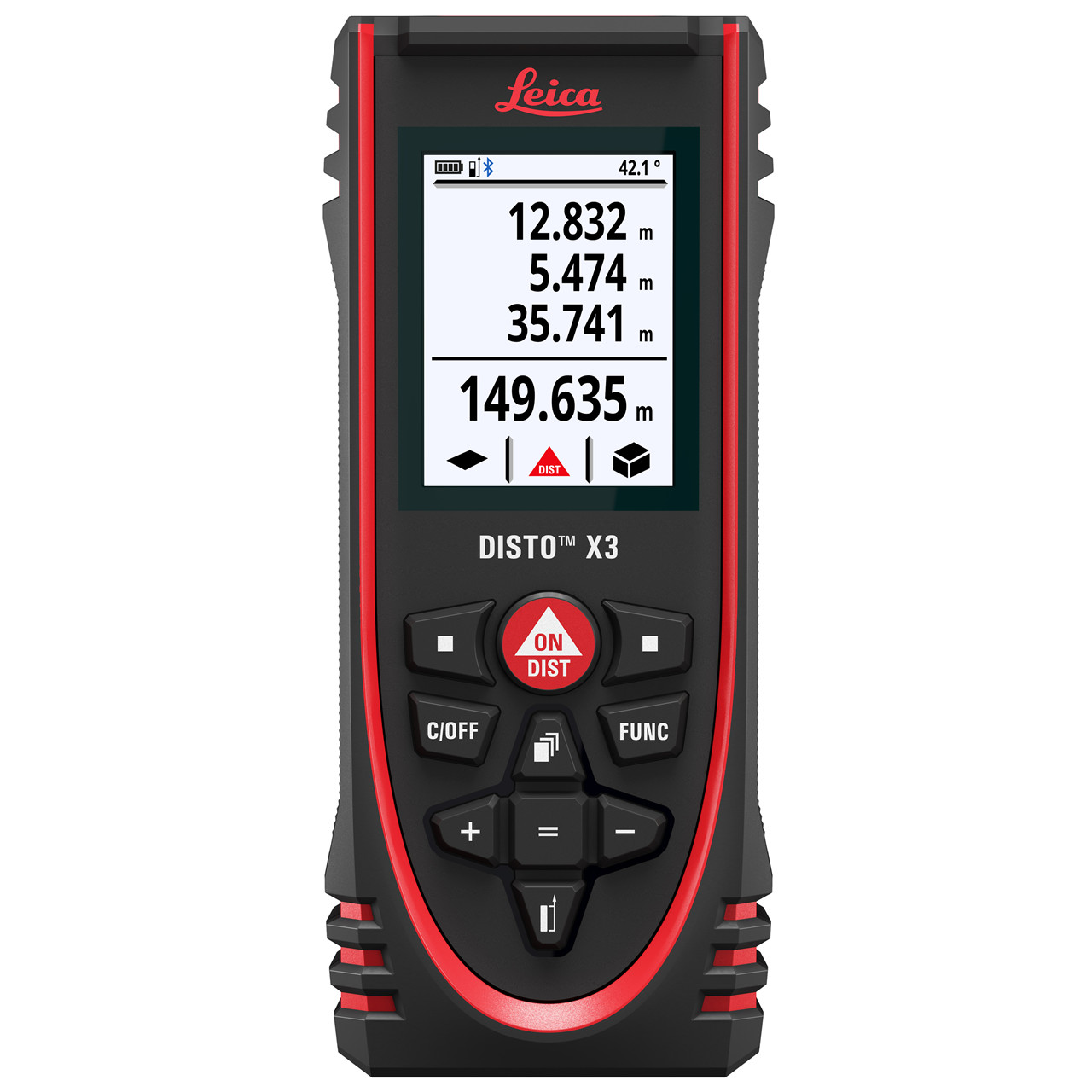 Leica laserafstandsmåler Disto X3 - Værktøj -> Laser og måleinstrumenter -> Opmåling -> Afstandsmåler|Værktøj -> Laser og måleinstrumenter -> Opmåling|Værktøj -> Laser og måleinstrumenter|Værktøj|Mærker -> Leica -> Leica afstandsmåler|Mærker -> Leica|Mærker ->