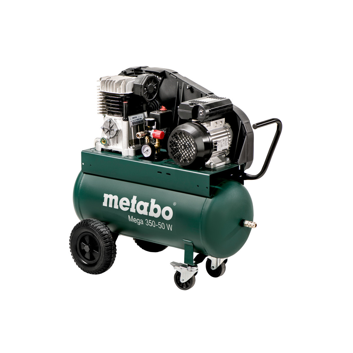 Metabo Trykluftkompressor Mega 350-50 W 50 L 10 Bar