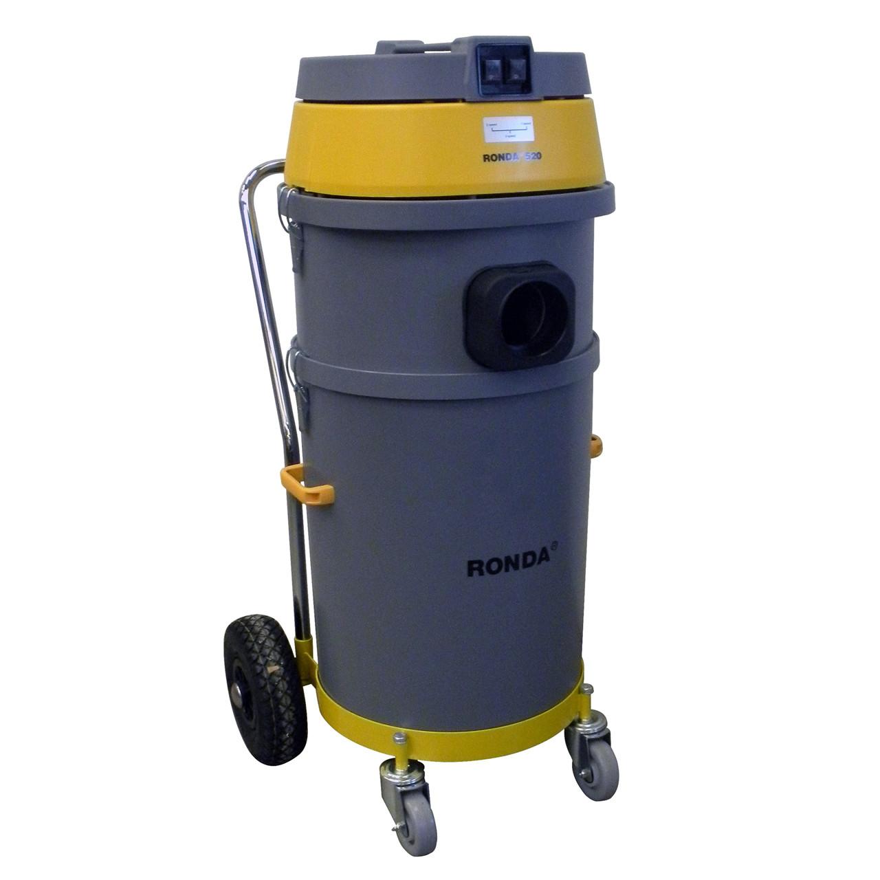 RONDA Våd-/tørsuger til tagrende rensesystem Model 520 - Klima -> Støvsuger -> Kombisuger|Klima -> Støvsuger|Klima|Mærker -> Ronda