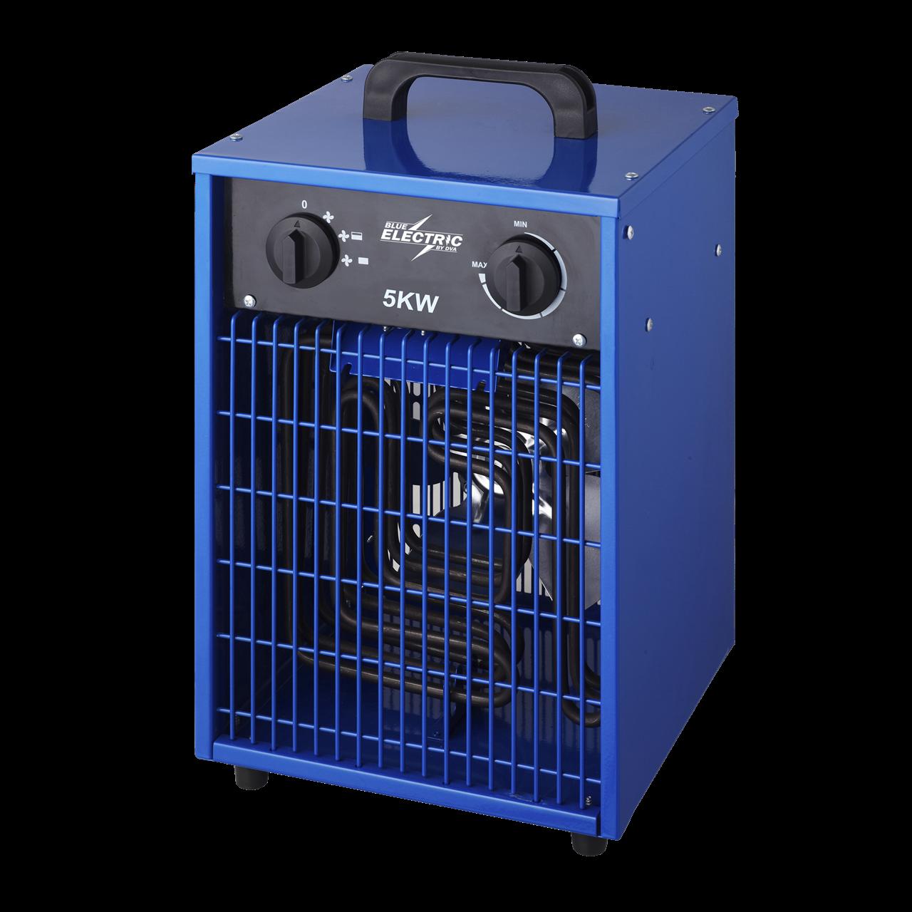 Køb BLUE ELECTRIC varmeblæser 5kW 400V