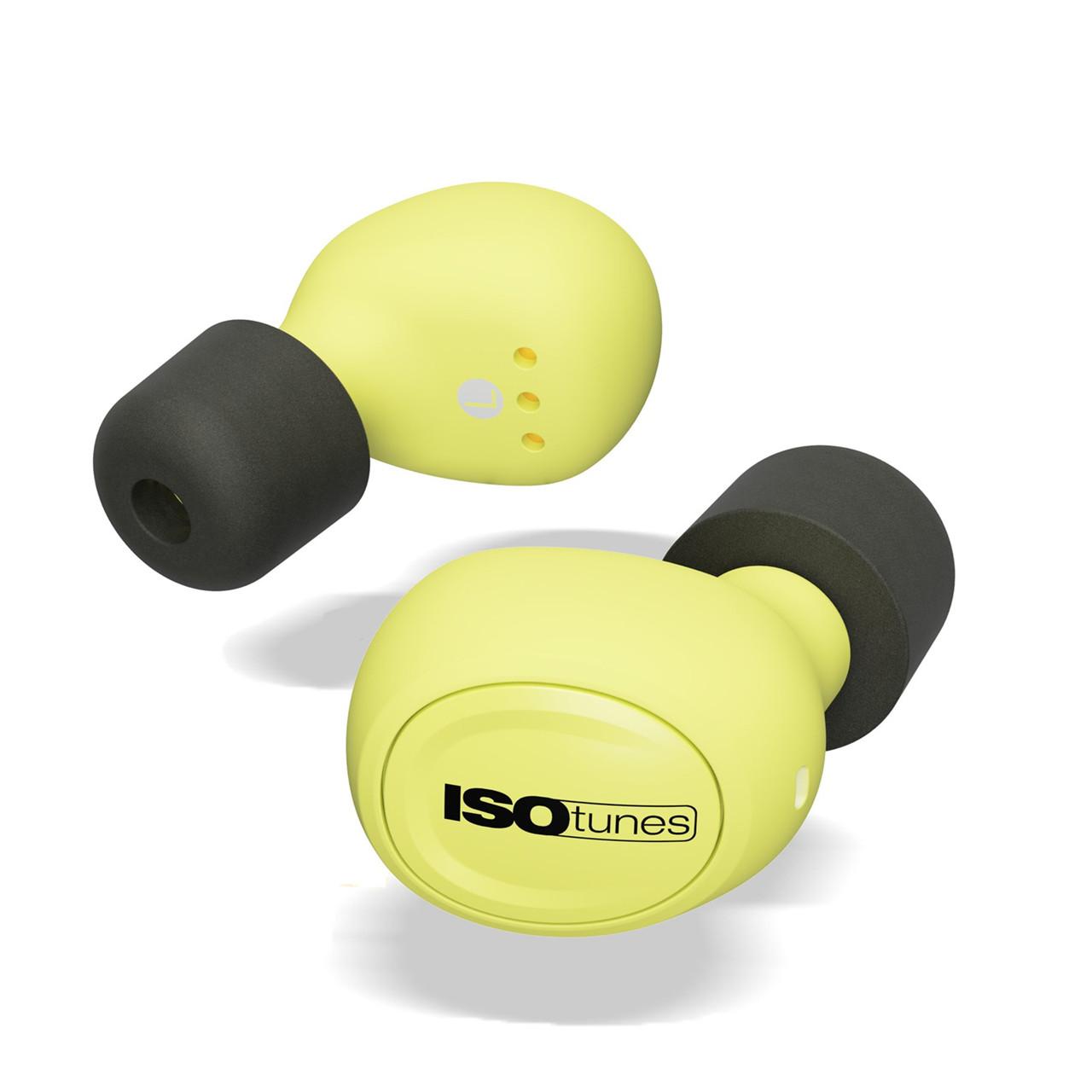 Billede af ISOtunes Høretelefoner og ørepropper FREE neon EN352