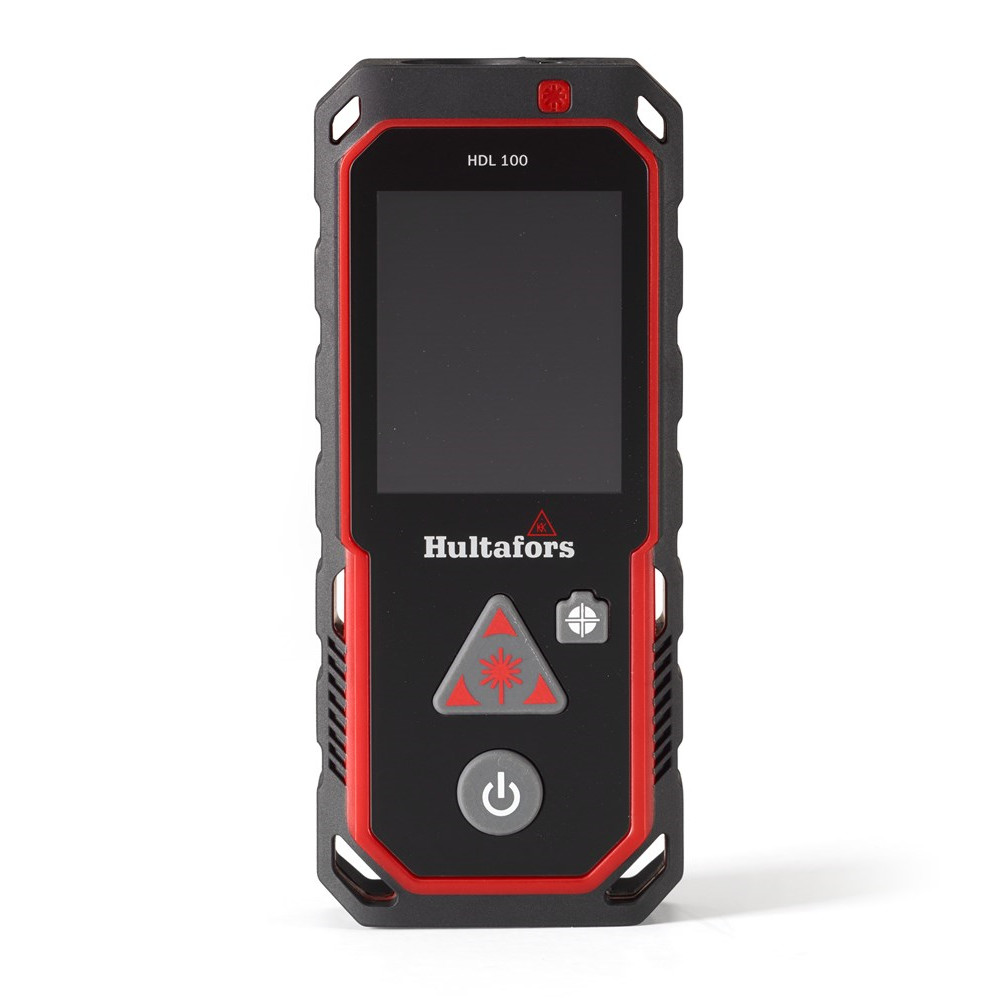 HULTAFORS Laser afstandsmåler HDL 100-S - Værktøj -> Laser og måleinstrumenter -> Opmåling -> Afstandsmåler|Værktøj -> Laser og måleinstrumenter -> Opmåling|Værktøj -> Laser og måleinstrumenter|Mærker -> Hultafors -> Hultafors laser og laser afstandsmåler|Mærker -> Hult
