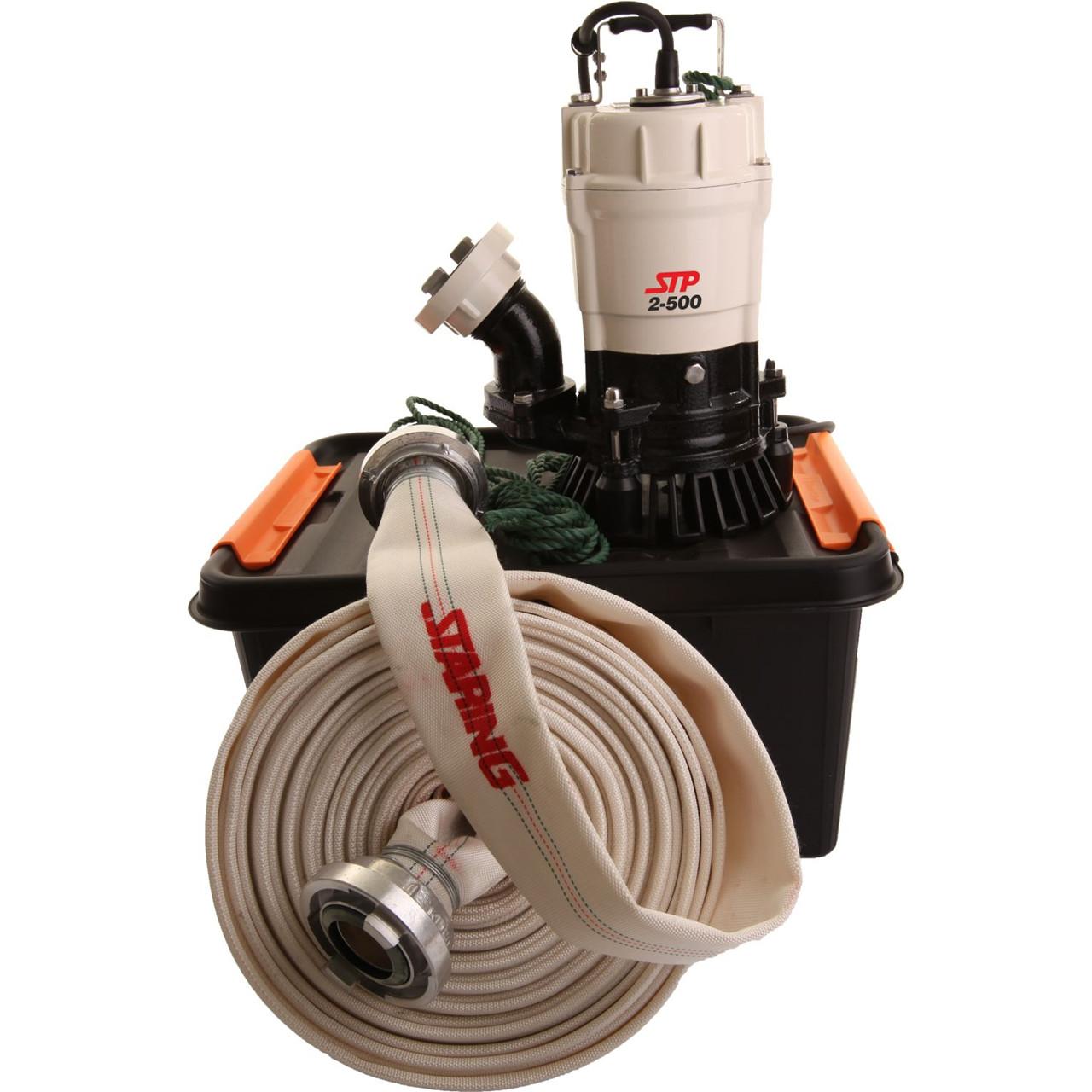 Køb STARING Entreprenørpumpe STP2-500 2″ med 15 meter slange og koblinger