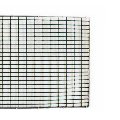 """HG Hvalpenet grøn plast med kant 11½"""" x 36"""" ½"""" x 1"""" x 1,95/2,03 mm"""
