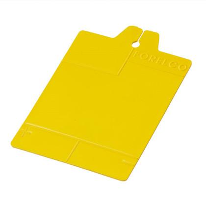 Karta klatkowa, żółta