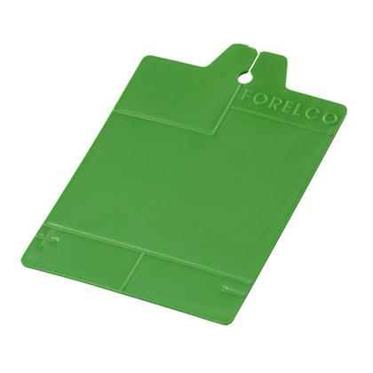 Karta klatkowa, zielona