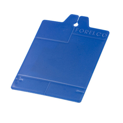Karta klatkowa, niebieska
