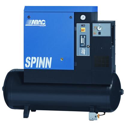 SPINN skruekompressor med køletørrer 1310 ltr/min., 15 HK, 25 Amp