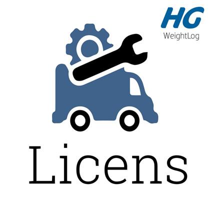 WeightLog Licens og support pr vejehylde
