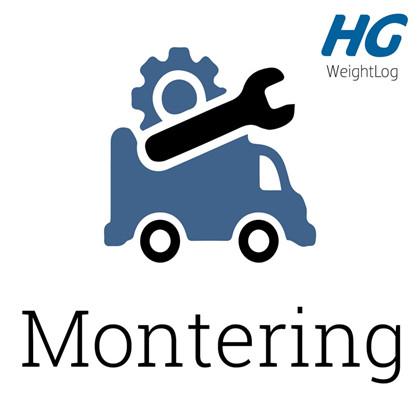 WeightLog Montering