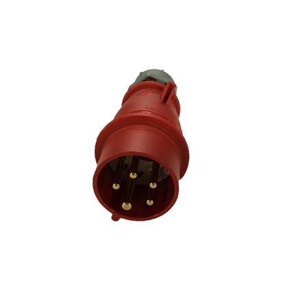 Stikprop 16 amp rød HAN 15 15 104 296