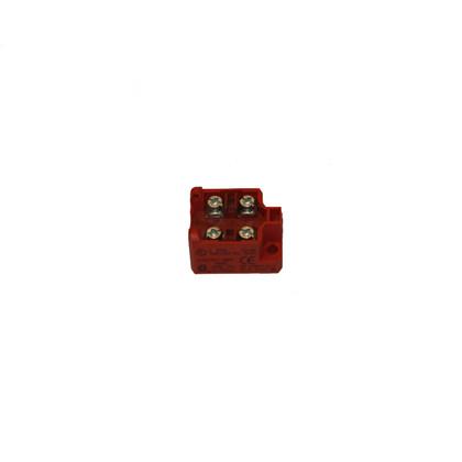 Kontaktelement med to bryder 3970800043 (Rød)