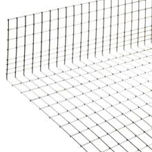 "Bundtråd rustfri stål 2,45 mm med  6"" opbuk 1"" x 1"" + 1½"" x 1"" combi   42"" x 77"""