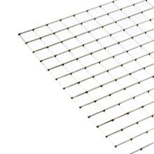 "Overtråd rustfri stål 36"" x 77""  1"" x 1"" x 2,0 mm"