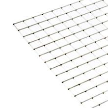 """Bagtråd rustfri stål 18"""" x 77""""  1"""" x 1"""" x 2,00 mm"""