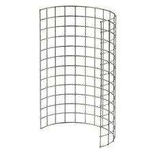 "HG Hylde rustfri stål 12"" x 13""  rullet 1"" x 1"" x 2,0 mm"