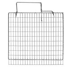 """HG Cage door top ZinkAlu 11""""x11,5"""" 1""""x½""""x1,60/1,75mm"""
