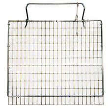"HG Cage door top Stainless 11""x11,5"" ½""x1""x1,60mm"