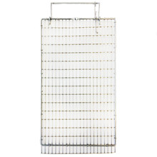 "HG Cage door top Stainless 16""x10,5"" ½""x1""x1,60mm"