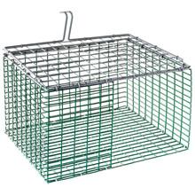 "HG Wire insert Plastic coated 9""x12"" flat bottom ZinkAlu lid 1""x1""x2,05mm"