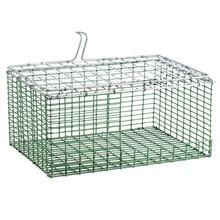 "HG Wire insert Plastic coated 10""x12"" bottom bend ZinkAlu lid 1""x1""x2,05mm"