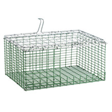 "HG Wire insert Plastic coated 10""x12"" bottom bend ZinkAlu lid 1""x1""x2,45mm"