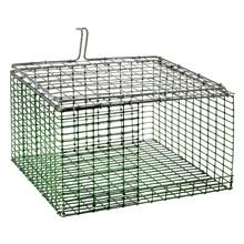 "HG Wire insert Plastic coated 11""x12"" bottom bend ZinkAlu lid 1""x1""x2,05mm"