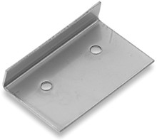 HG Locking plate Stainlees, 23mm