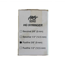 HG Ring clips Stainless 9mm 1 kg box (est. 1700 pcs)