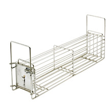 "HG Sorting trap, Stainless, male 5""x5""x20"""